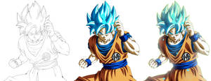 Son Goku Supa Saiya-jin Buru