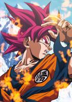 Son Goku Supa Saiya-jin Goddo