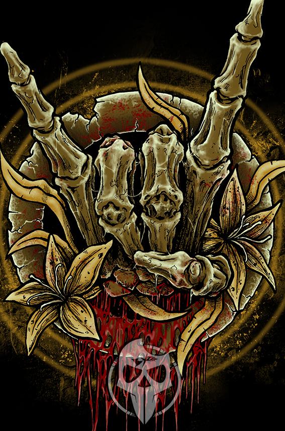metal hand by byzart on deviantart
