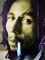 Bob Marley by sahgald
