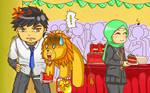 New Challenger: Intruder in School Party?! by nabyyl