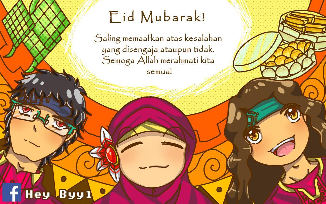 Eid Mubarak by nabyyl