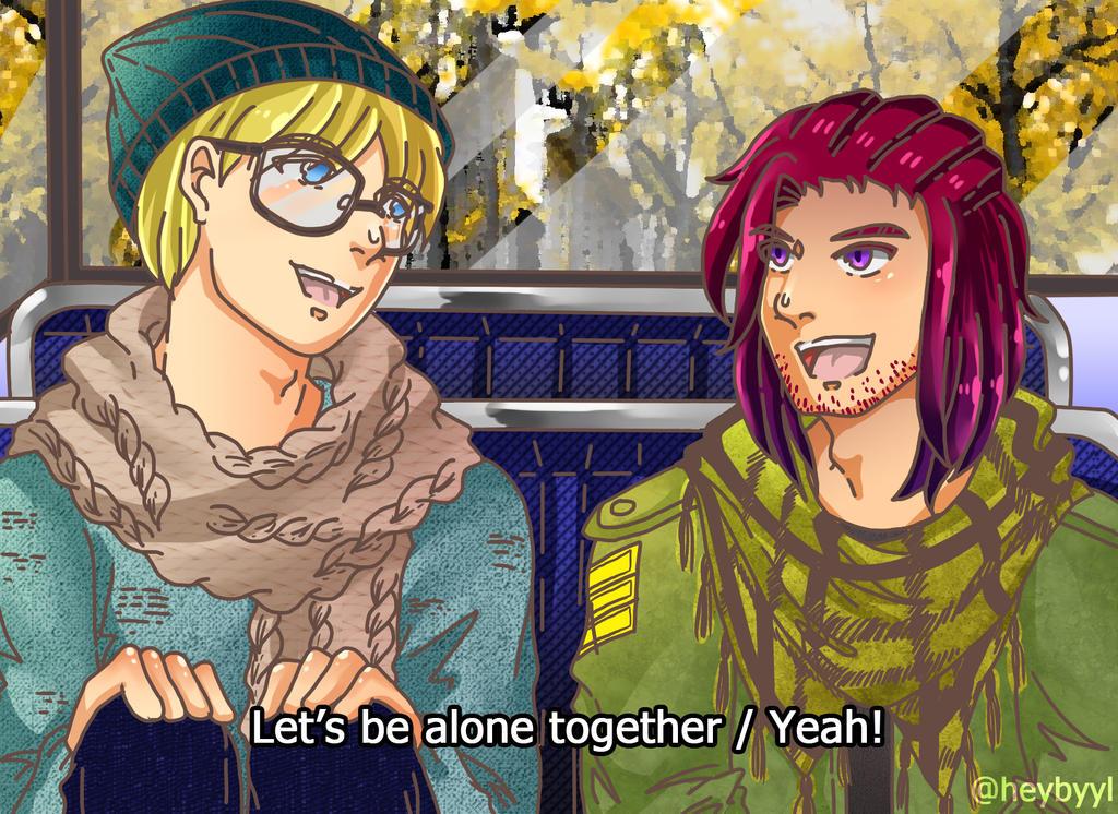 Alone Together by nabyyl