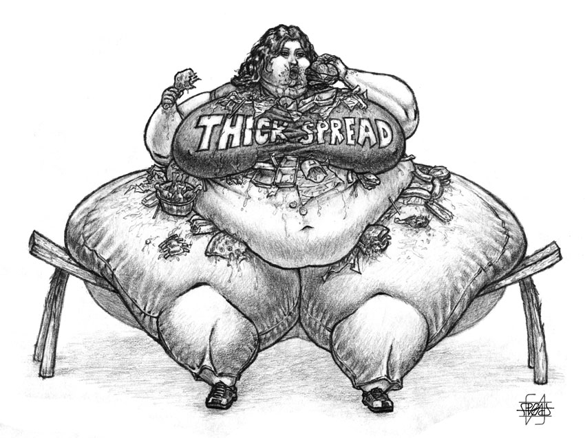 Thick Spread by SpratFA