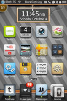 Fusion theme for Iphone