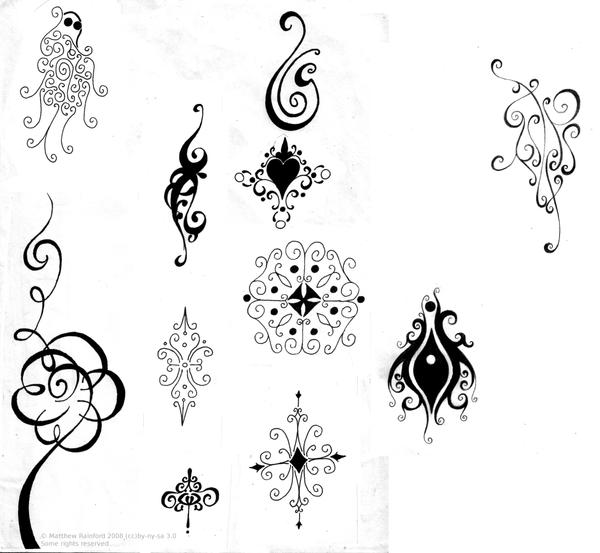 abstract tattoos by bobbu on deviantart. Black Bedroom Furniture Sets. Home Design Ideas