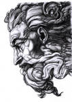 Michelangelo's God -shaded-