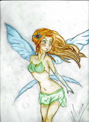 Draw of A fairy.