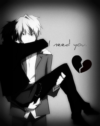 I need you by Shizaya25