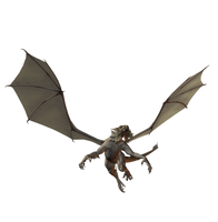 Zombie Dragon 001 by Selficide-Stock