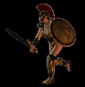 Spartana : Female Warrior 001