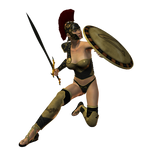 Spartana : Female Warrior 002