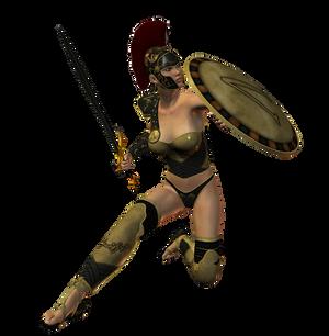 Spartana : Female Warrior 002