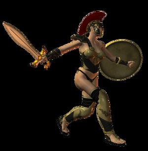 Spartana : Female Warrior 003