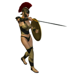 Spartana : Female Warrior 004