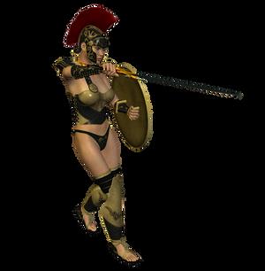 Spartana : Female Warrior 004