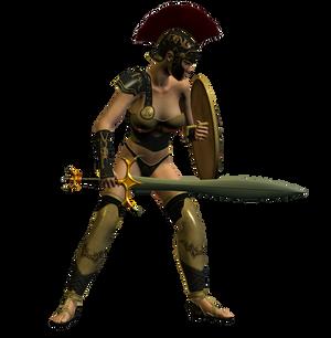 Spartana : Female Warrior 005