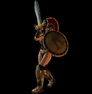 Spartana : Female Warrior 006