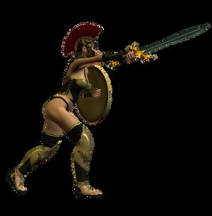 Spartana : Female Warrior 007