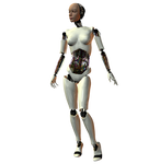 She-Bot : White 003
