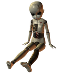 Creepy Ball Joint Doll 002