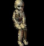 Creepy Ball Joint Doll 005
