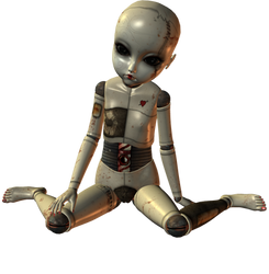Creepy Ball Joint Doll 008 by Selficide-Stock
