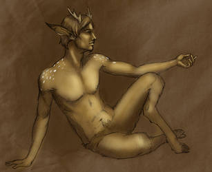 Golden Fawn by LiminalWorks