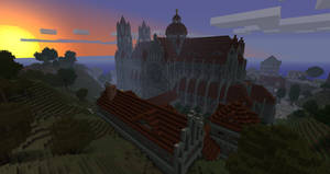 Cathedral at Sunset