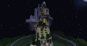 Eco Tower at night