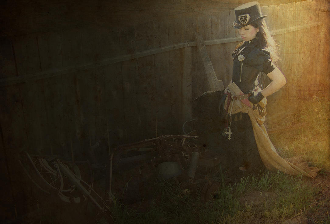 Steampunk Vampire Huntress by NovelPashion