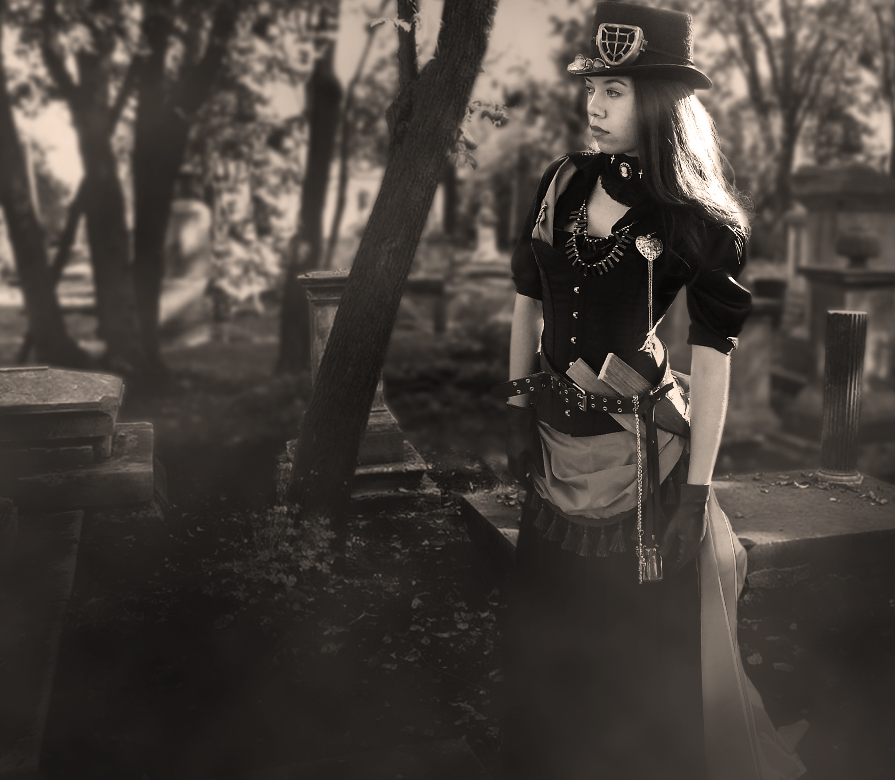 Steampunk Vampire Huntress III by NovelPashion