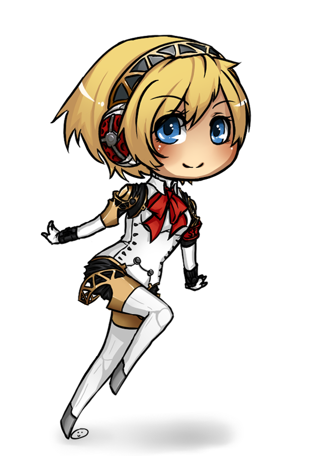 P3:Aigis:Chibi by nekodoru