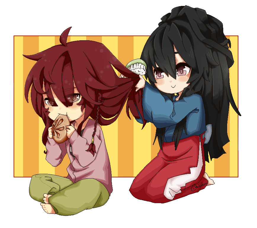 DoN:Iseul:Hong:Hairdos:and:Dumplings by nekodoru