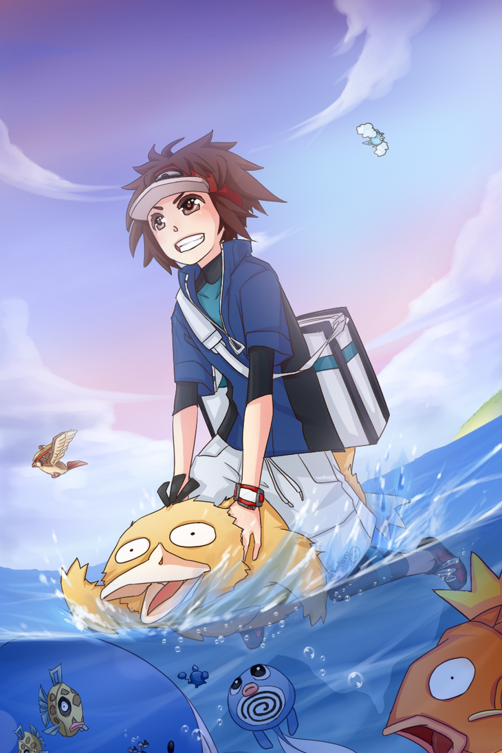 PKMN:HM03:Surf by nekodoru