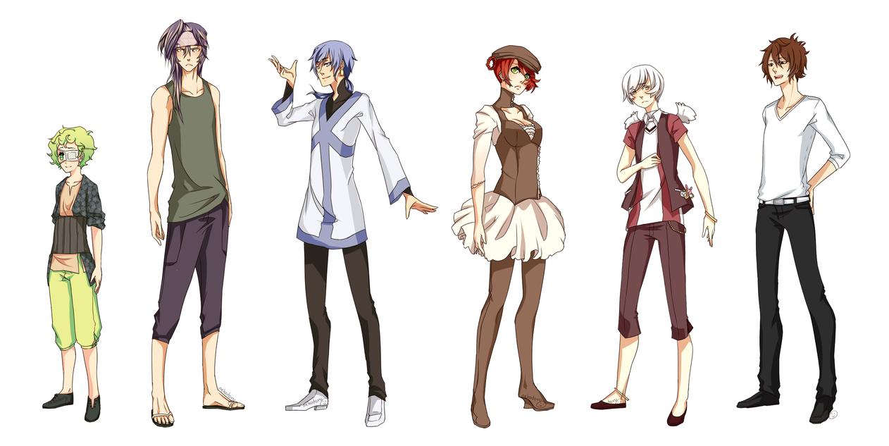 9ENNOH:Character Sheet 2 by nekodoru