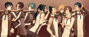 TENIORI : Team Kaizen by nekodoru