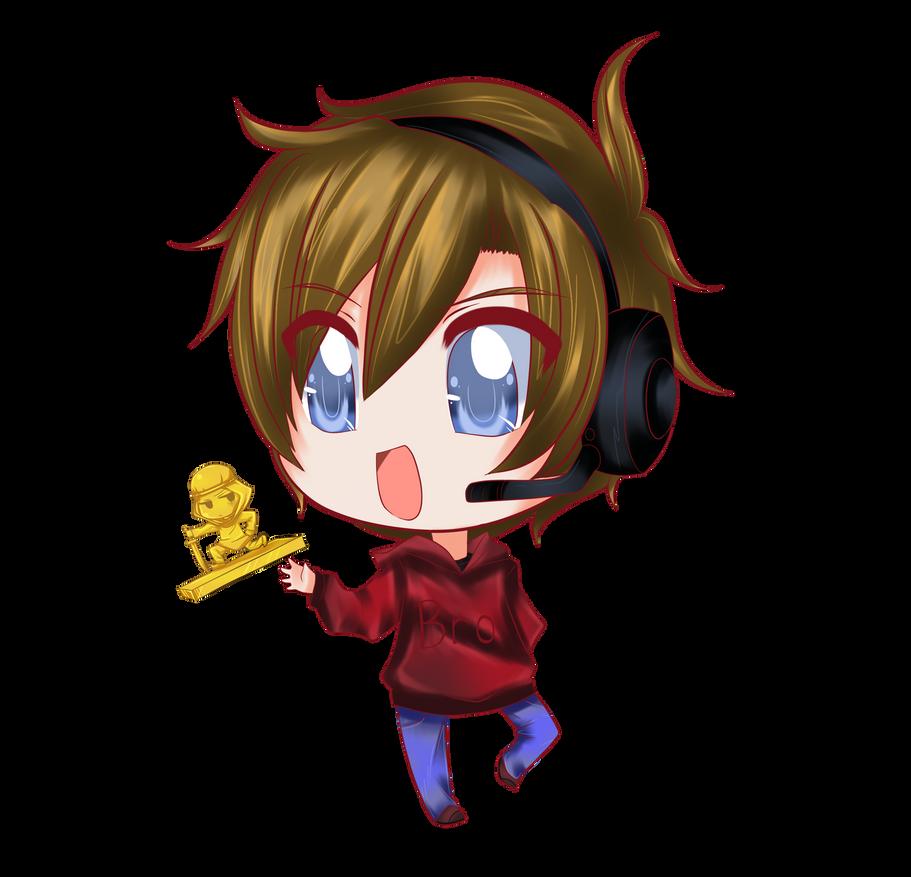 Pewdiepie chibi by cattymaddie on deviantart - Anime gamer boy ...