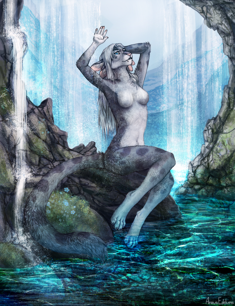 Beauty waterfall by Araivis-Edelveys