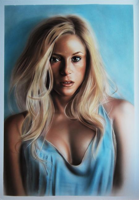 Shakira by SpringzArt