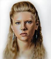 Katheryn Winnick - Lagertha by SpringzArt