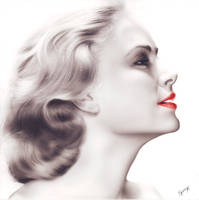Grace Kelly by SpringzArt