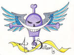 4th Div. Whitebeard Pirates tattoo, COMPLETE! by HellsOriginalAngel