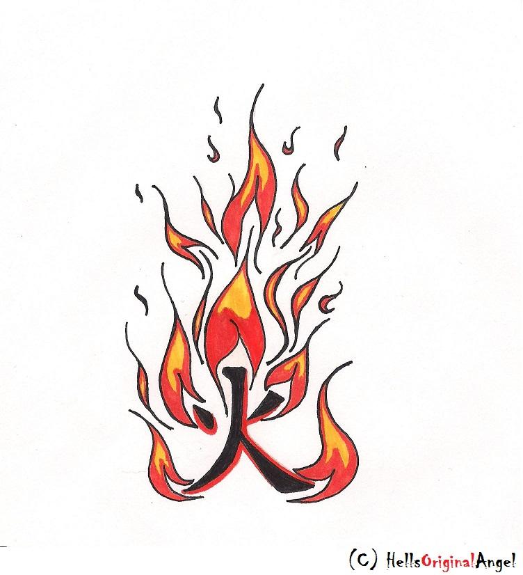 Fire Kanji Tattoo Design By Hellsoriginalangel On Deviantart