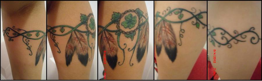 My New Celticnative American Tattoo By Hellsoriginalangel On Deviantart