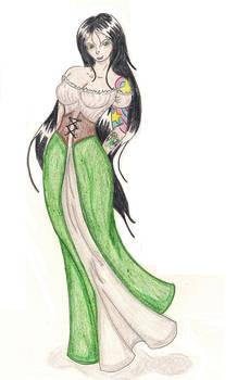 Aly Maree...Native Dress