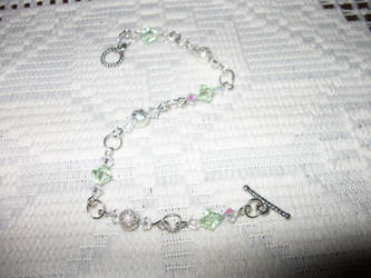 Wind Talker Jewelry Green Bracelet