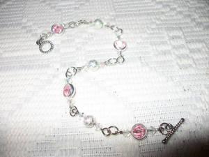 Wind Talker Jewelry Pink Bracelet