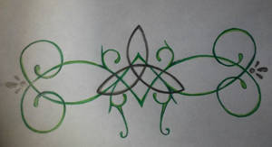 Celtic Knot tattoo design (for my baby sister)