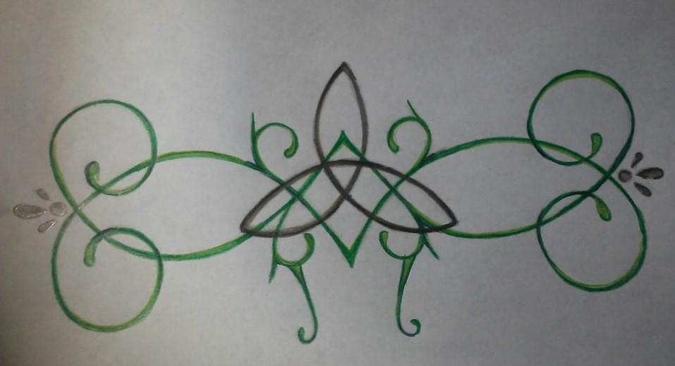 Celtic Knot Tattoo Design For My Baby Sister By Hellsoriginalangel